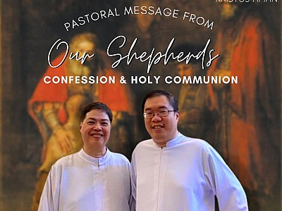 Pastoral Message from your Shepherds - Confession and Holy Communion
